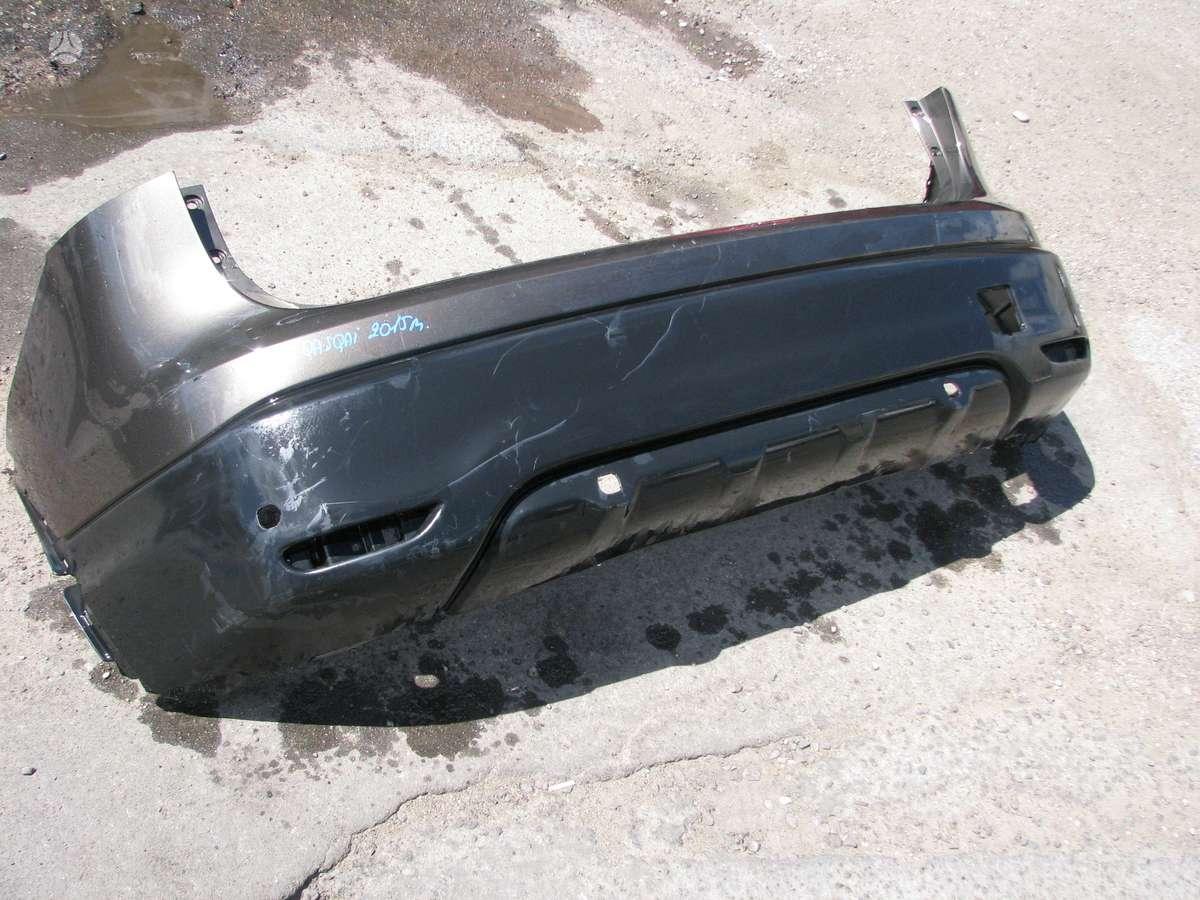 Nissan Qashqai bamperiai