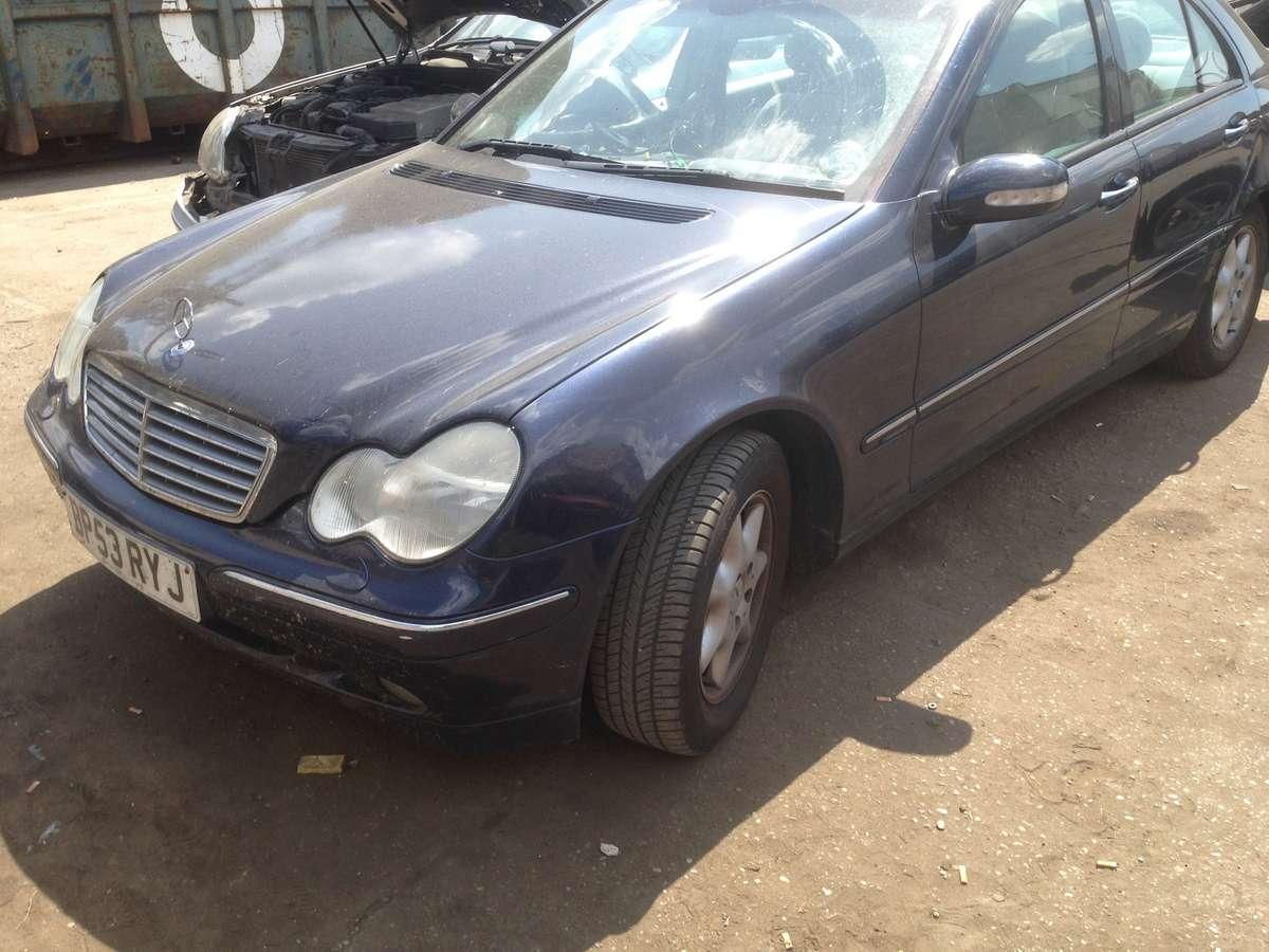 Mercedes-Benz C220. Mb 203 2004m 2.2 cdi variklis 646, lieti