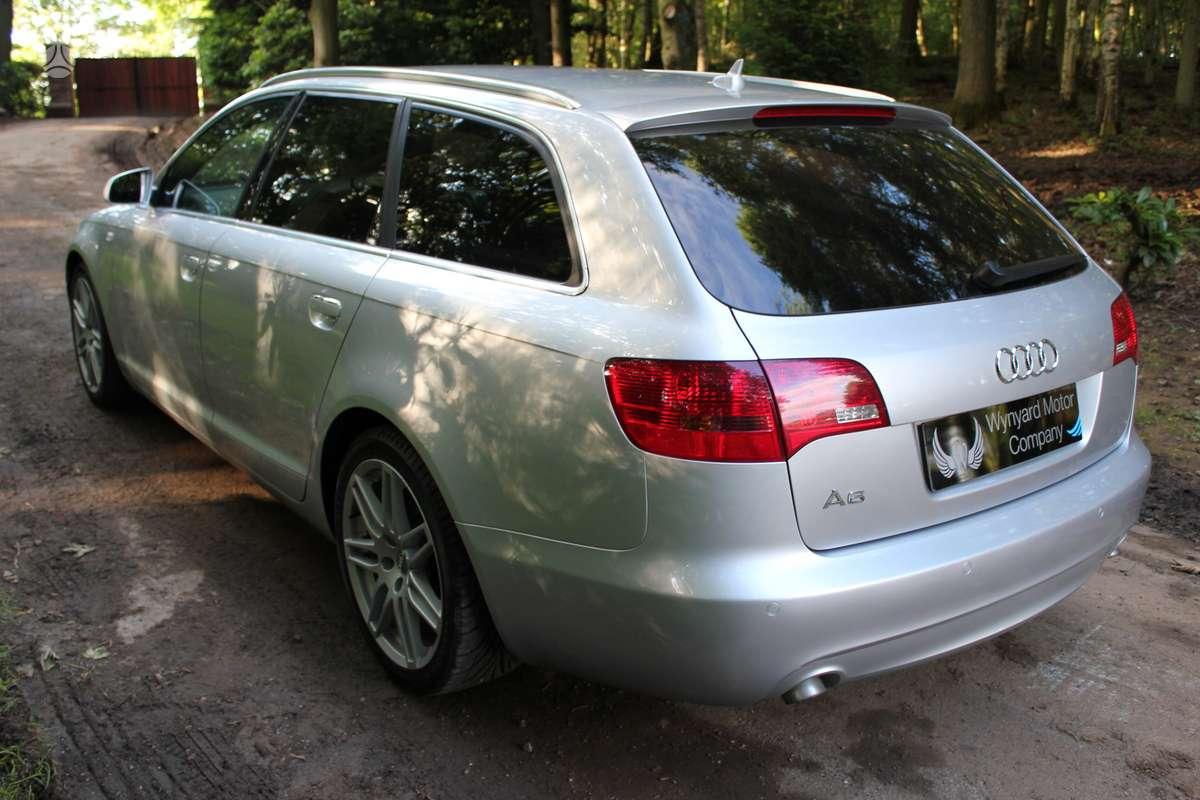 Audi A6 dalimis. Ratu nera,variklio nera,lubu nera.