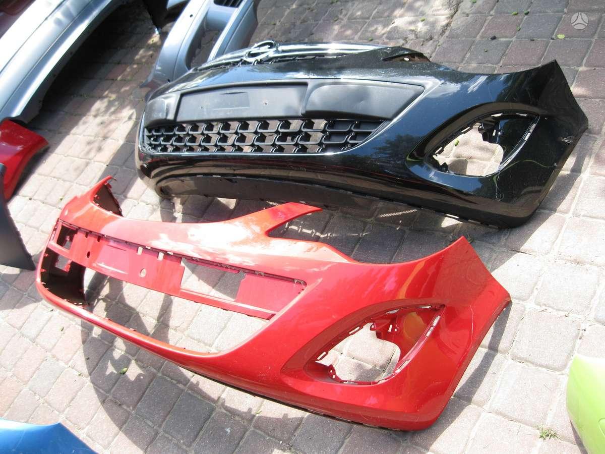 Opel Corsa. Buferiai---- radijatorius   ----apatinis buferio