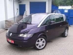Renault Avantime. Reno automobiliai nuo 92 ik06m ivairus