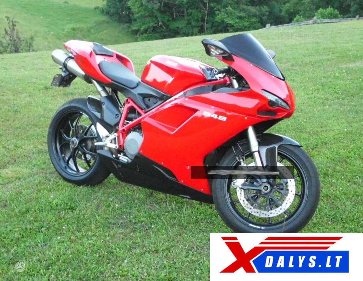 Ducati 848, sportiniai / superbikes