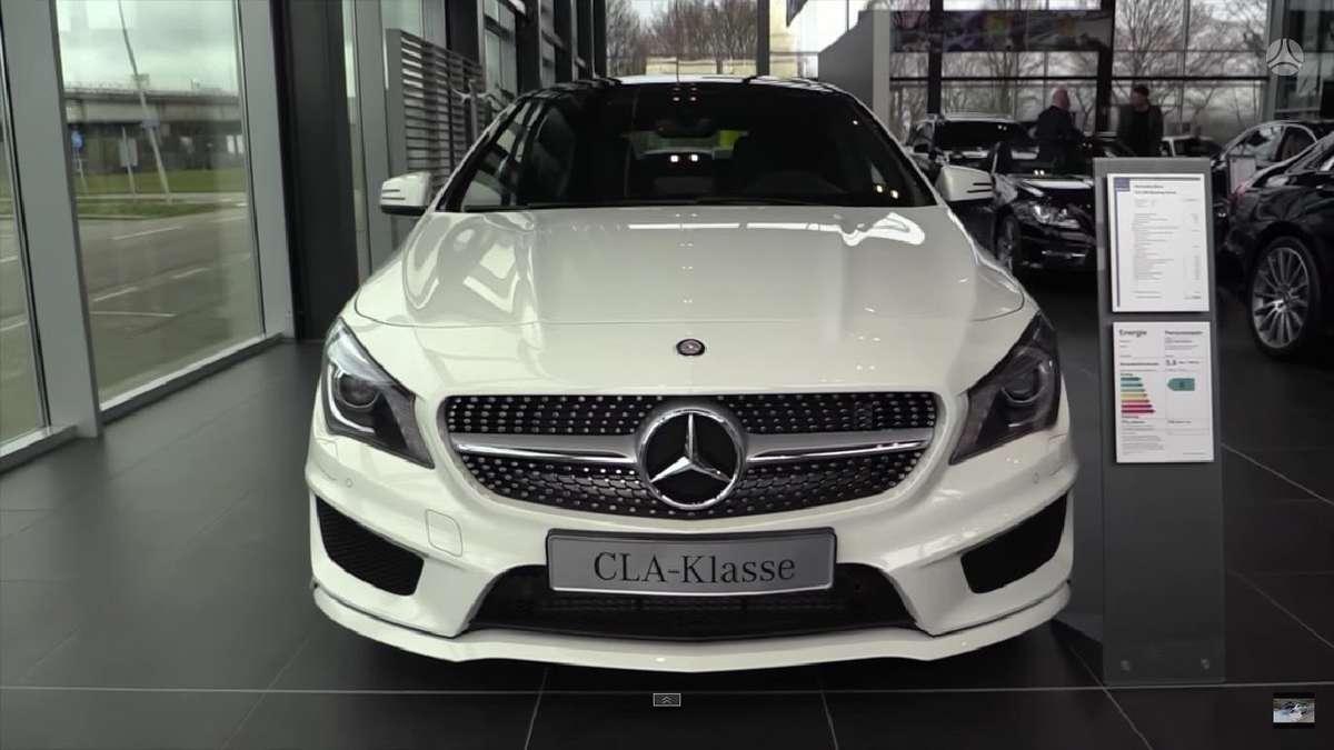 Mercedes-Benz CLA klasė. !!!! naujos originalios dalys !!!! !!!