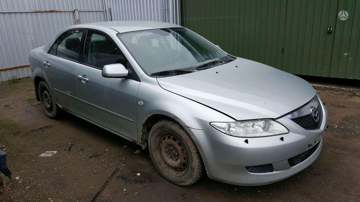 Mazda 6 dalimis. Prekyba originaliomis naudotomis detalėmis.