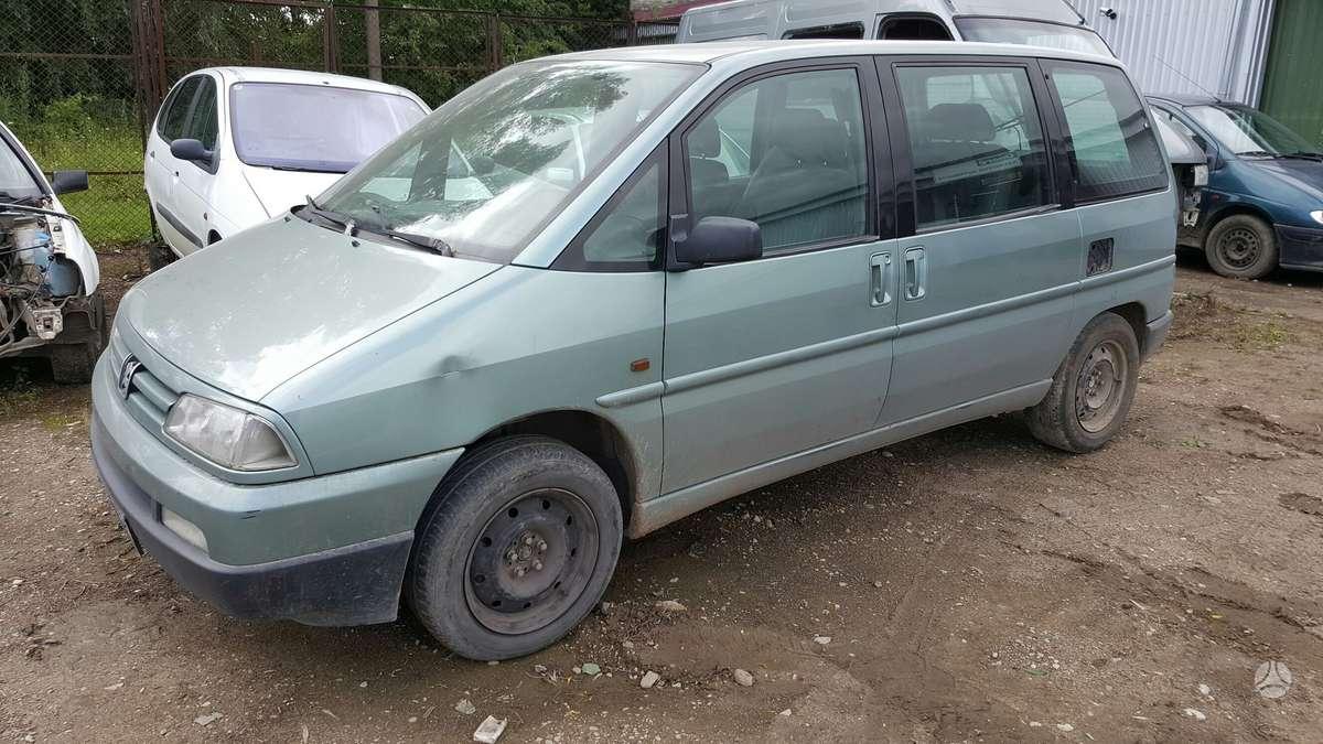 Peugeot 806 dalimis. Prekyba originaliomis naudotomis detalėmis.