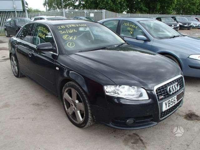 Audi A4. S-line,variklis bre,deze jzt spalva lz9y.ratai r18