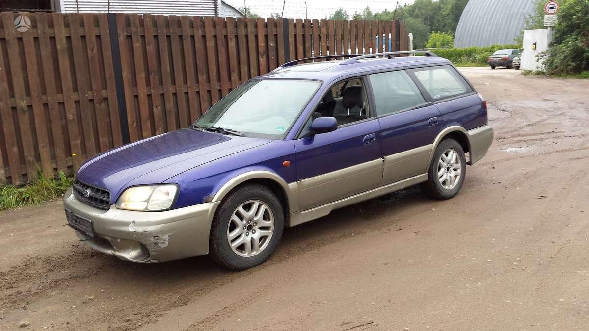Subaru Outback. Automobilis parduodamas dalimis. galime pasiū