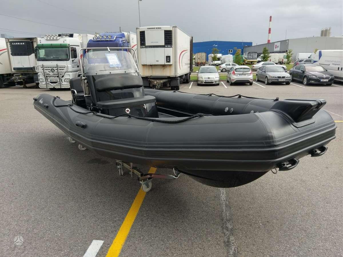 Adventure V-650 su DF140ATL, rib tipo kateriai