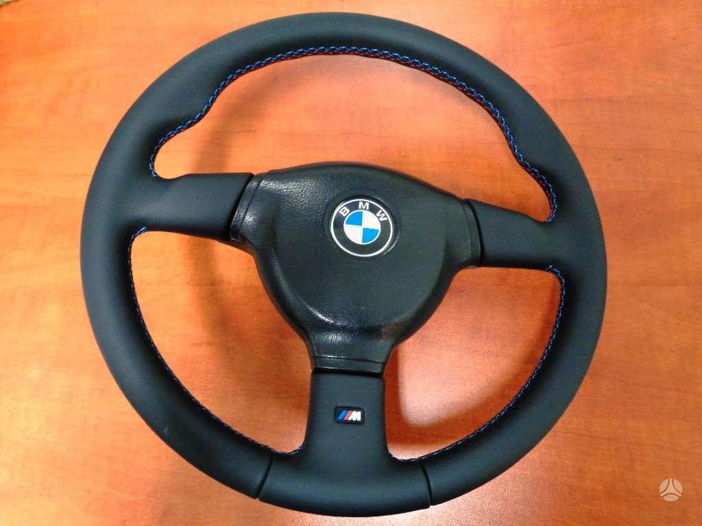 BMW 3 serija. Parduodami m-tech ir m-tech 2 vairai.  vairai