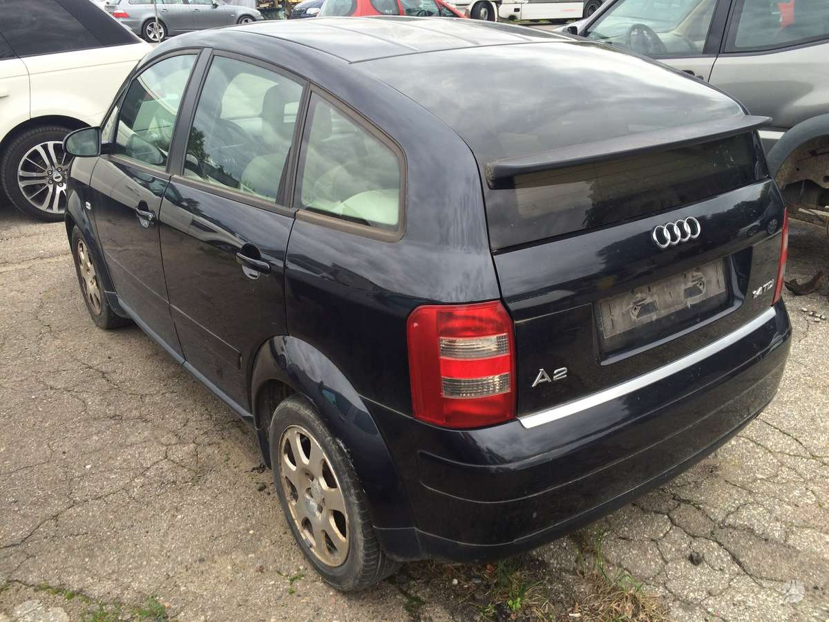 Audi A2. Is italijos