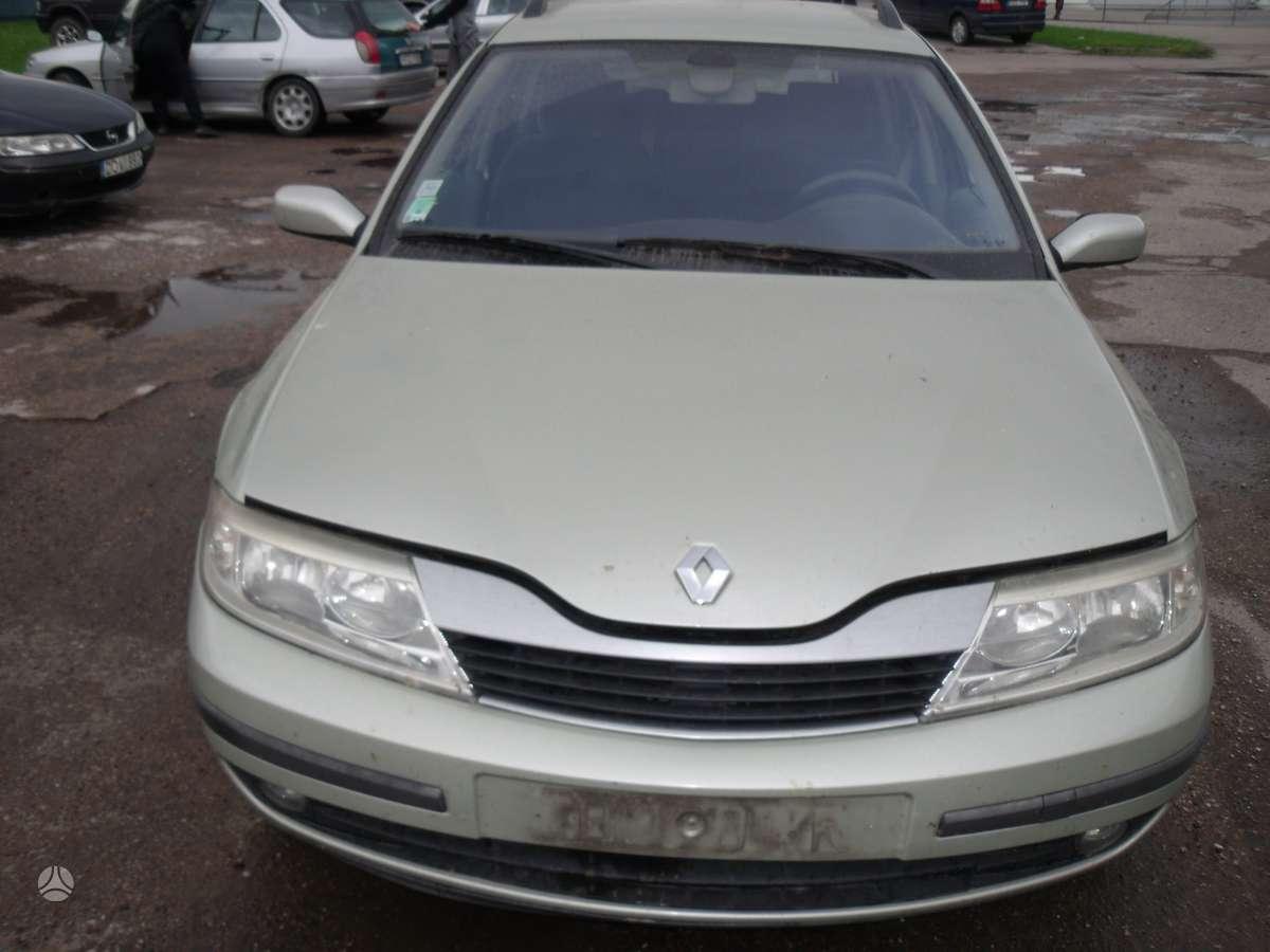 Renault Laguna. Dalimis