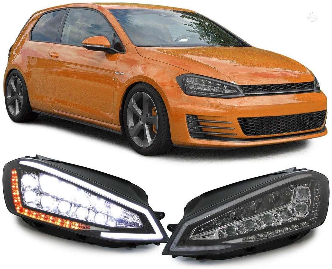 Volkswagen Golf. Tuning dalys.gti optik- galiniai zibintai su