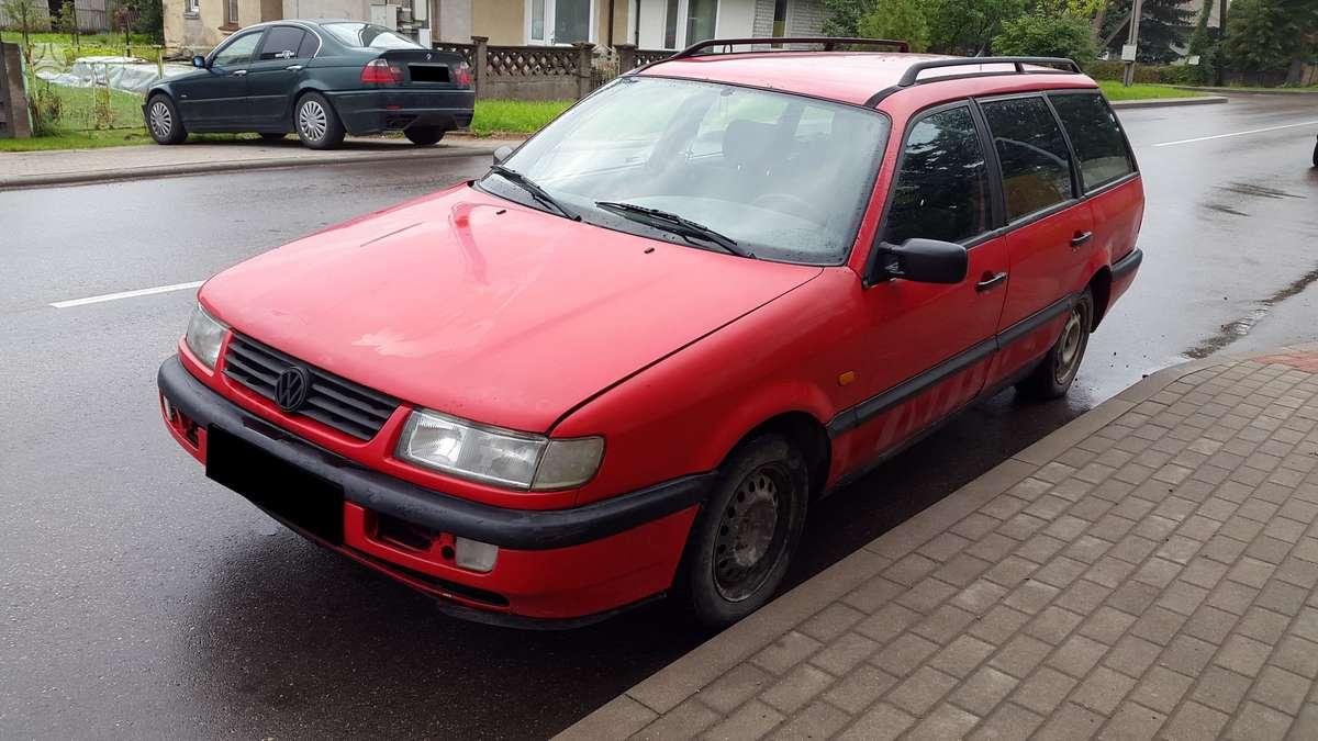 Volkswagen Passat dalimis. Turime ir daugiau įvairių markių