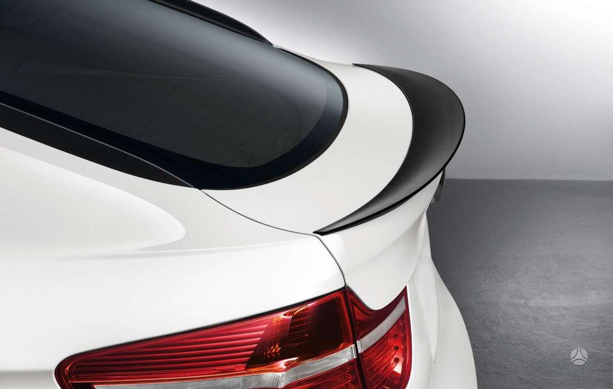 BMW X6. Bmw e71/e72 x6 (2008-2014m.) performance galinis