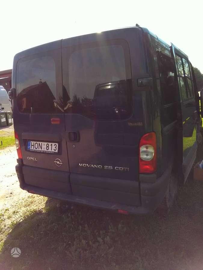 Opel Movano, keleiviniai mikroautobusai