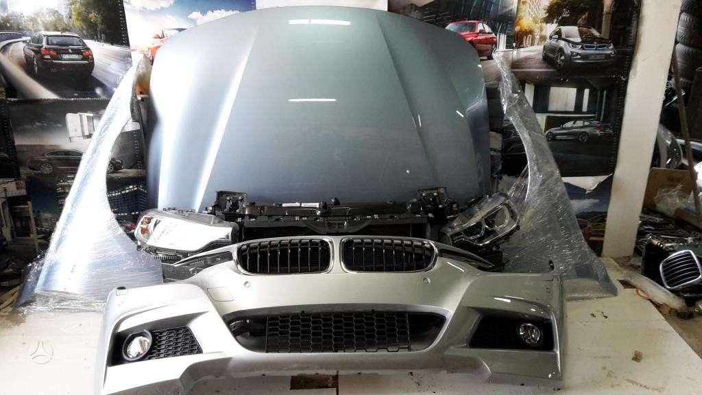 BMW 328 dalimis. Bmw f30,f31 originalios naudotos detales.