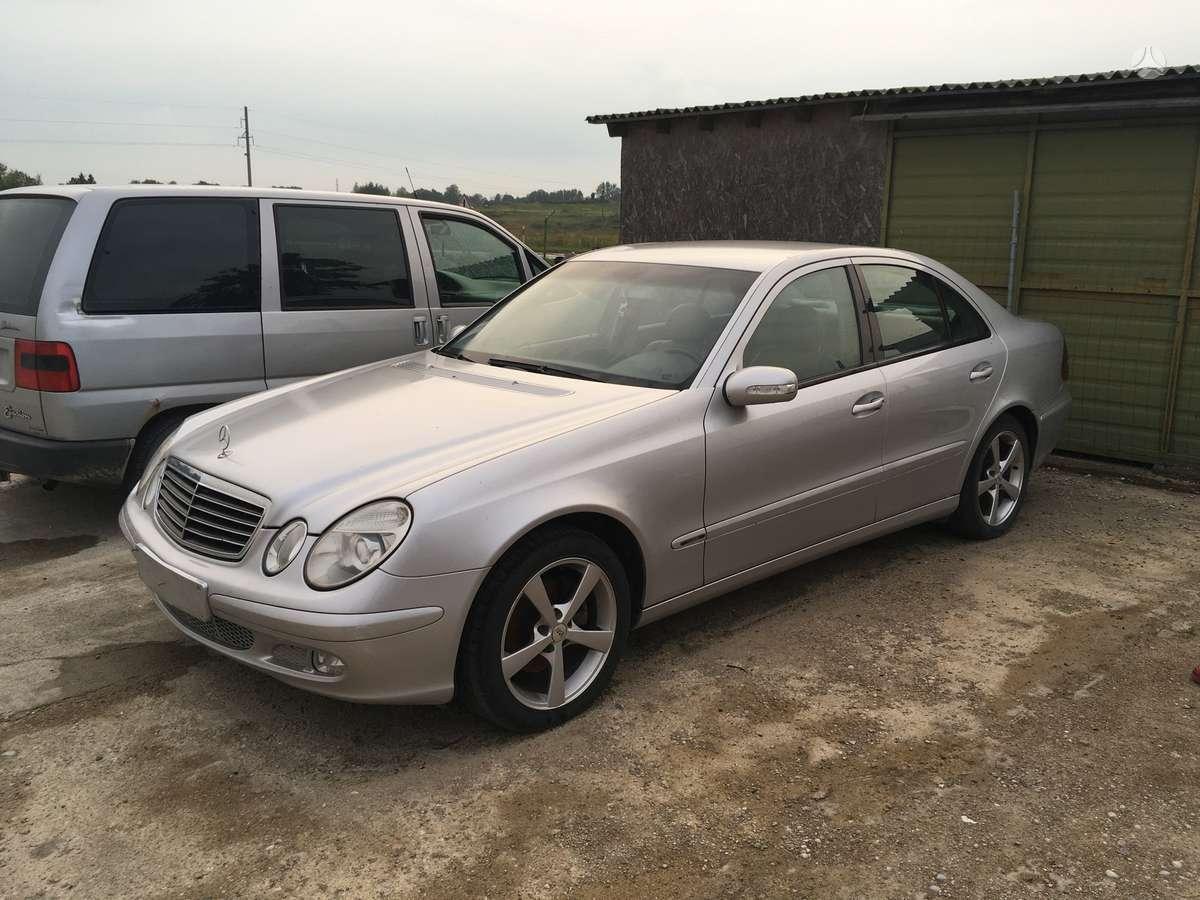 Mercedes-Benz E klasė. Uab