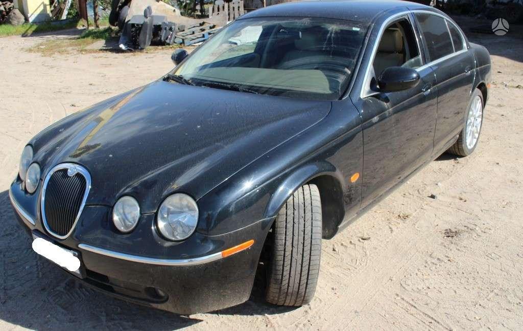 Jaguar S-Type dalimis. 160 000km