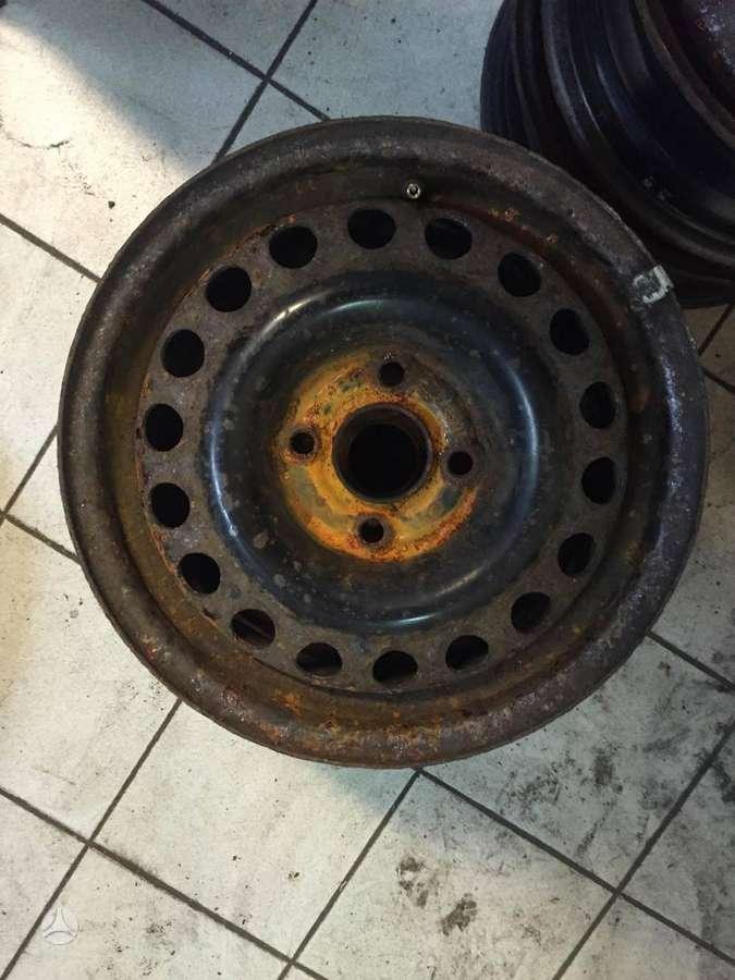 Volkswagen, plieniniai štampuoti, R14