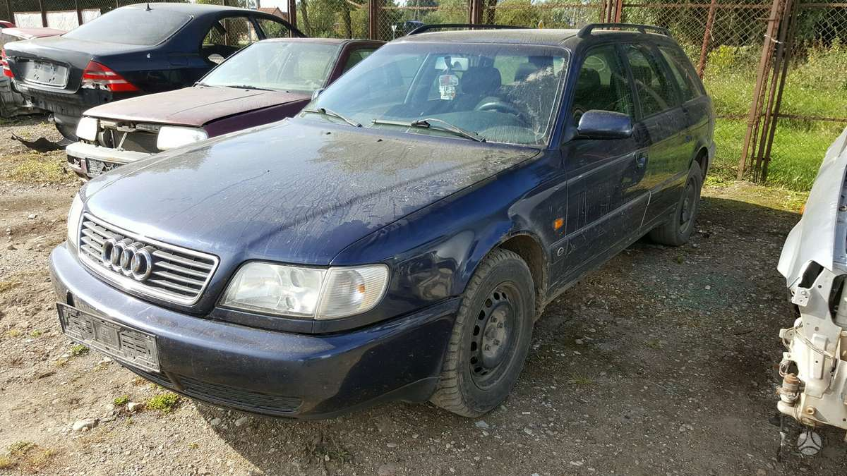 Audi A6 dalimis. Prekyba originaliomis naudotomis detalėmis.