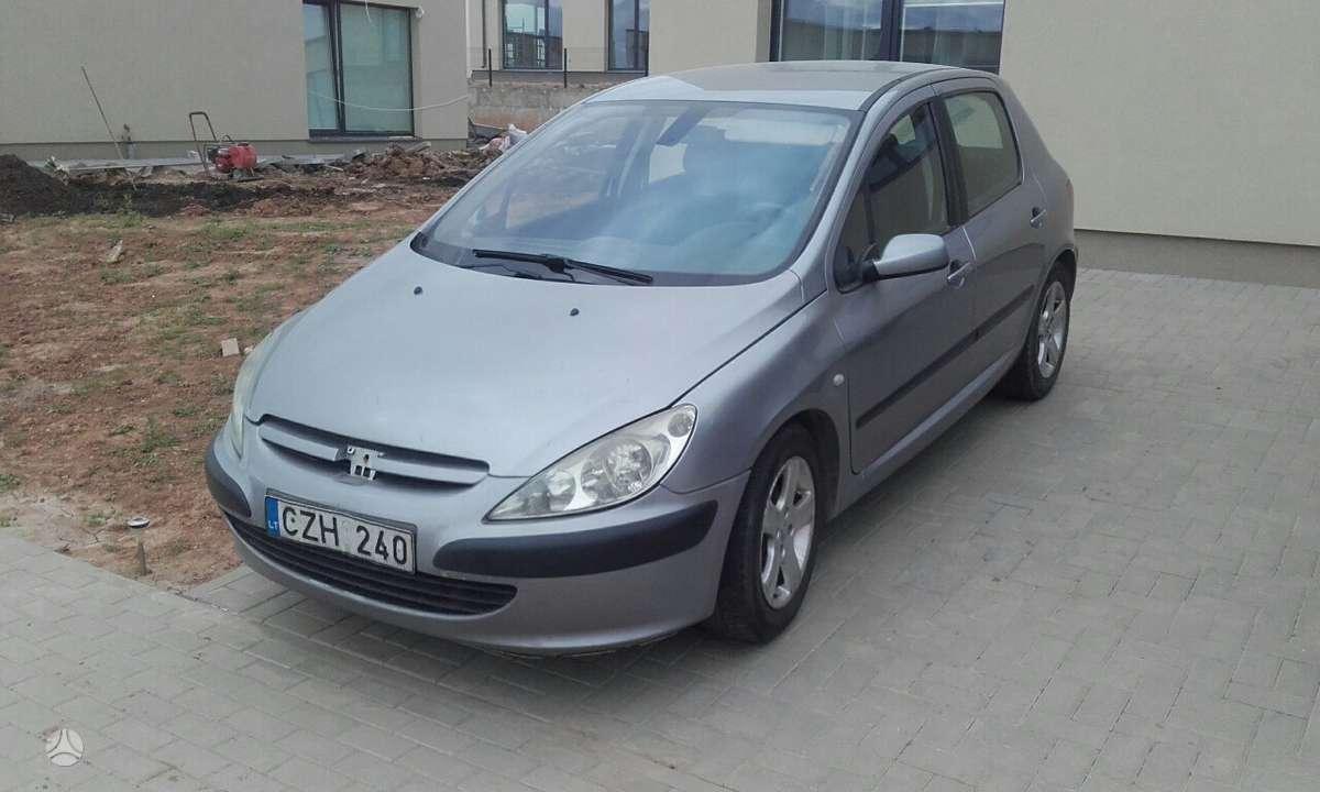 Peugeot 307 dalimis. Buvo tvarkingas automobilis  turime daug
