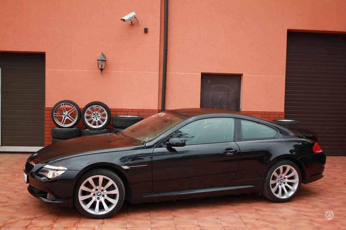 BMW 630 dalimis. Bmw 630i coupe 2006-2008m. bmw 630i cabrio