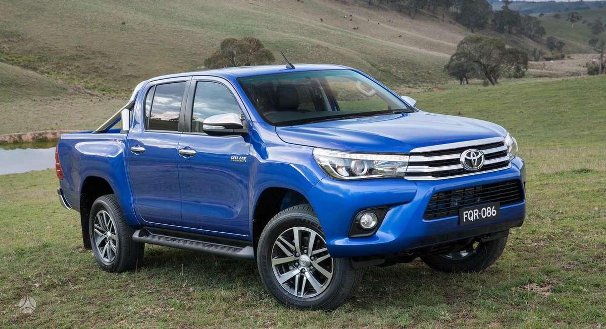 Toyota Hilux. Naujų originalių automobilių detalių užsakymai