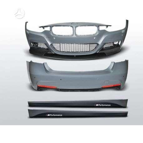 BMW 3 serija. M performance paketai,,spoileriai,groteles.visos