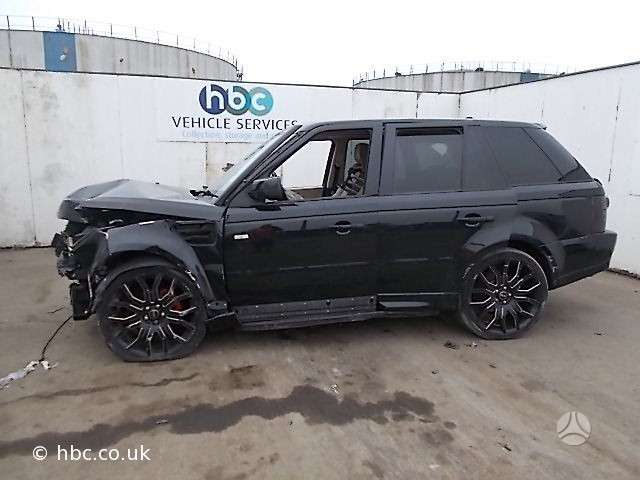 Land Rover Range Rover Sport. Dalimis