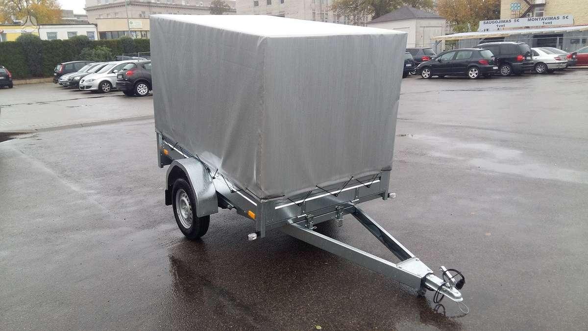 Tiki Treiler CS200L+A Tentas, lengvųjų automobilių priekabos