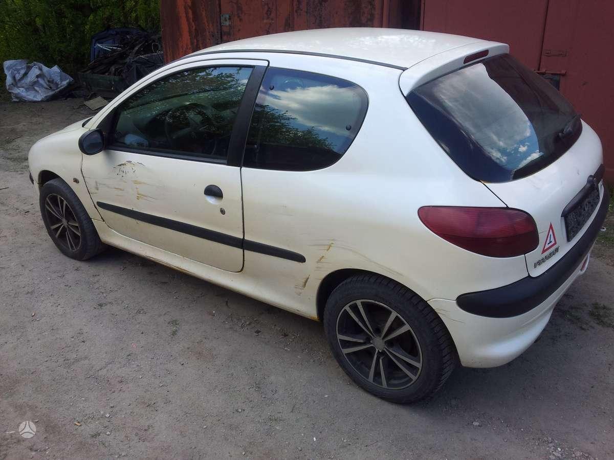 Peugeot 206 dalimis. +37068777319 s.batoro g. 5, vilnius.