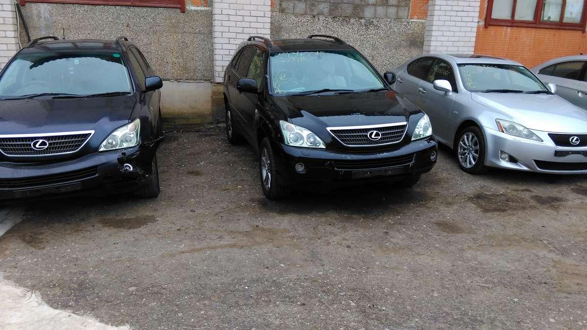 Lexus RX klasė. Yra  rx 300,rx330,rx350,rx400h ,rx450h ardomi