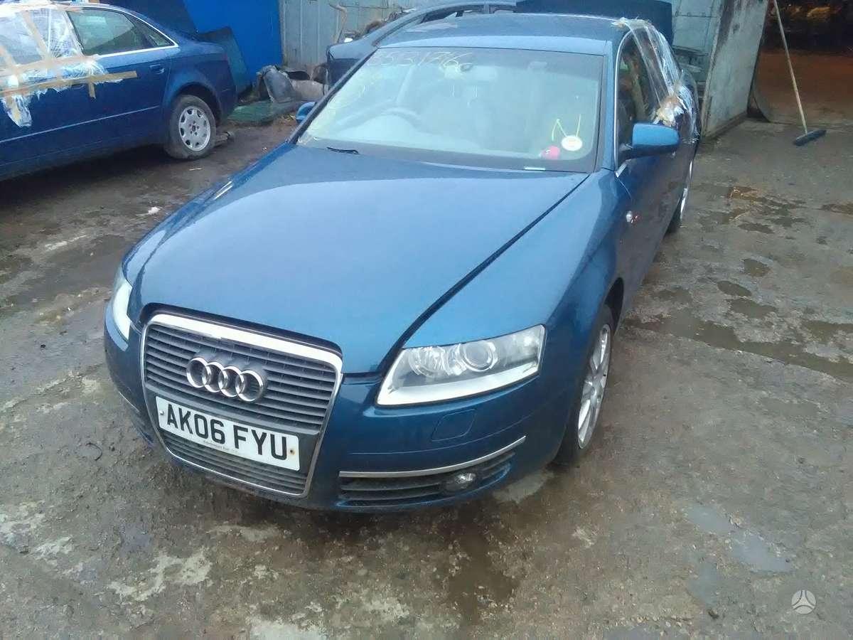 Audi A6. Sviesus, gero stovio odinis salonas, xenon, variklio