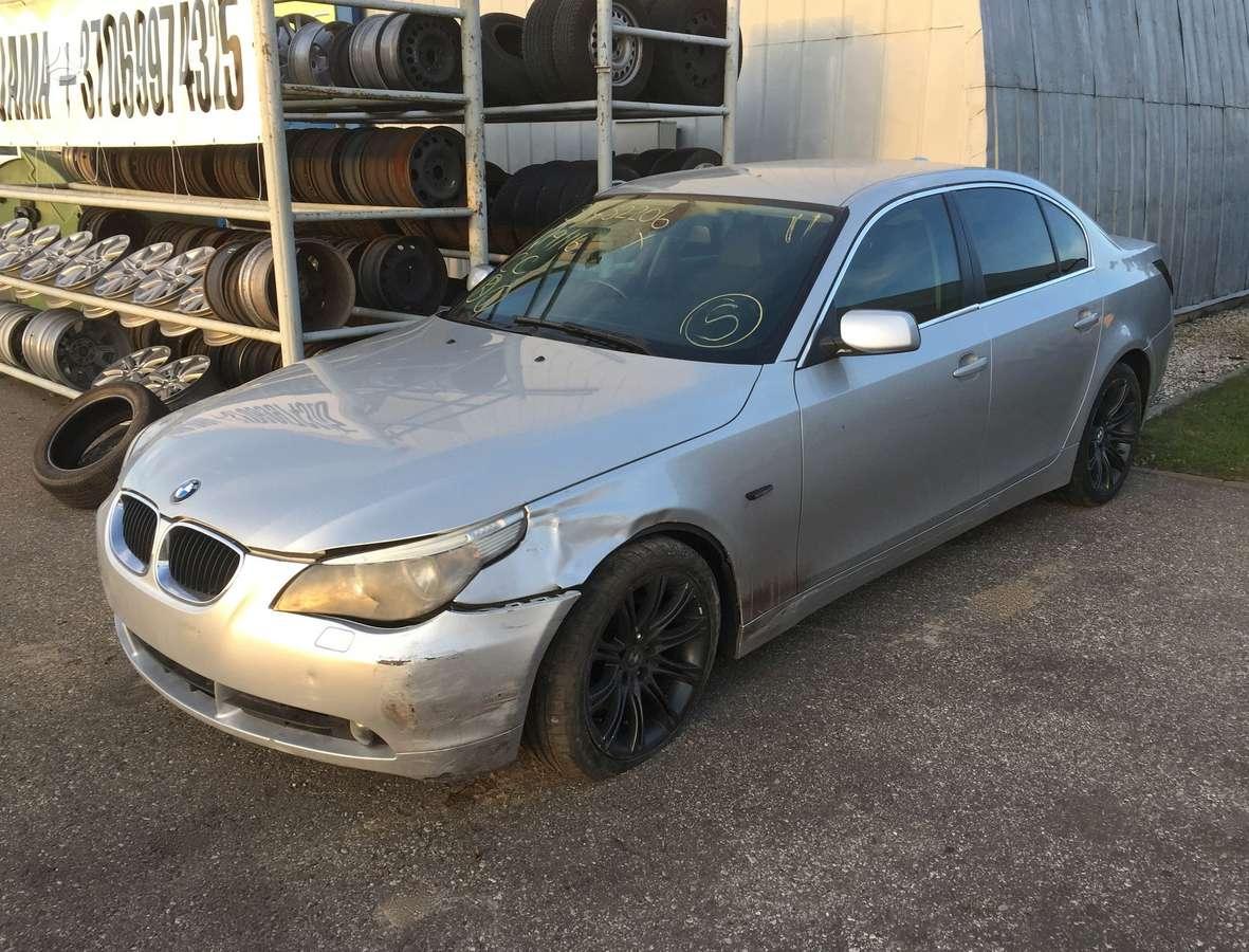 BMW 525. Variklio kodas: m57n 256 d4 ` ii angaras `