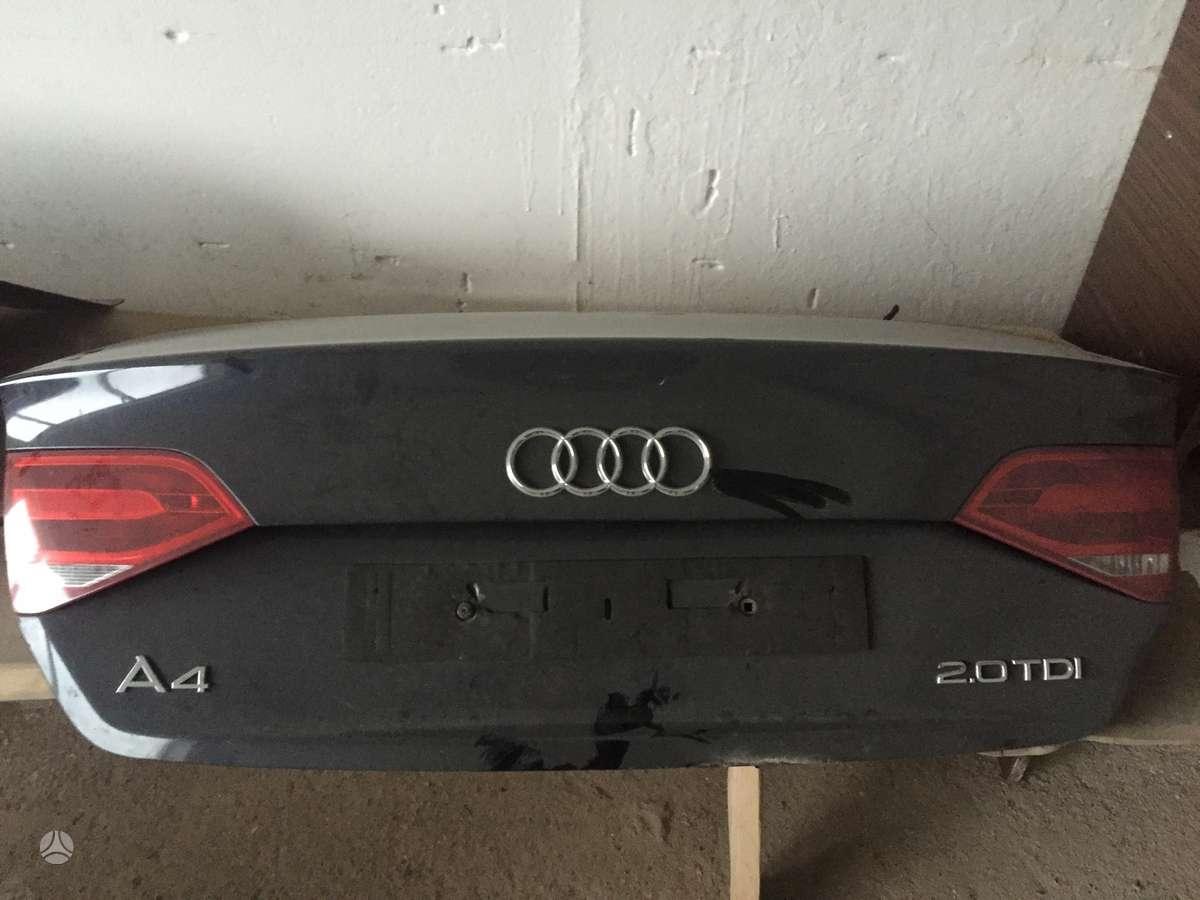 Audi A4 dangtis (priekinis, galinis), durys, žibintai
