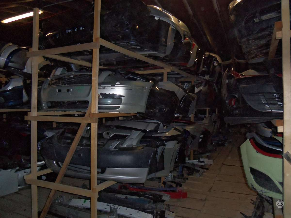 Ford Fiesta kėbulo dalys
