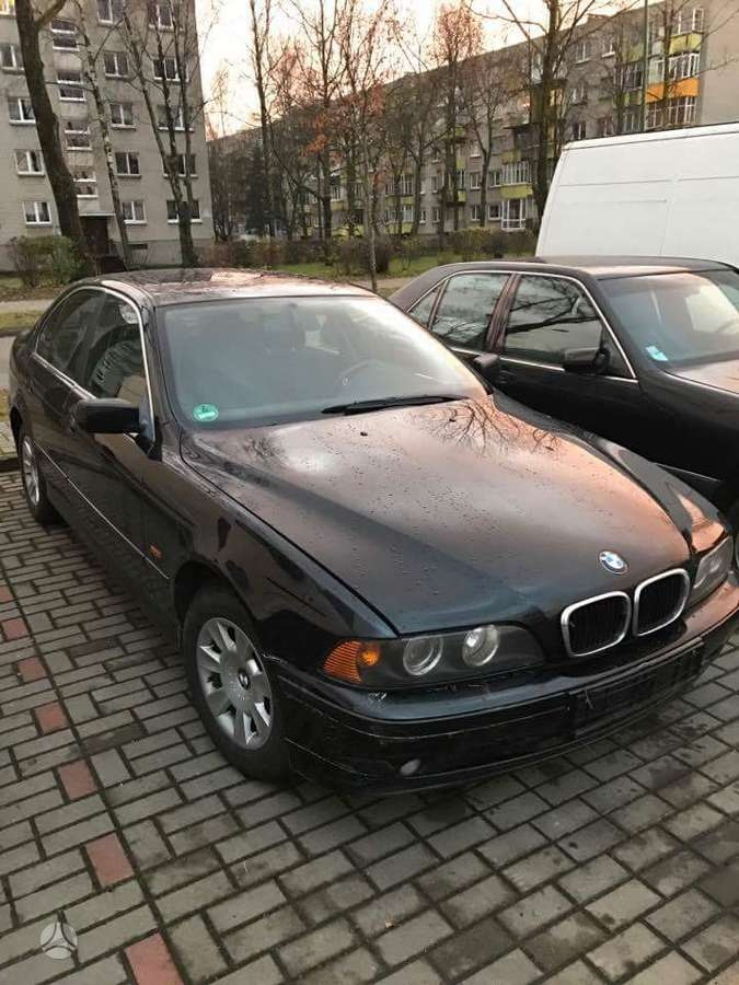 BMW 5 serija dalimis. Papildomas numeris +370 687 82685