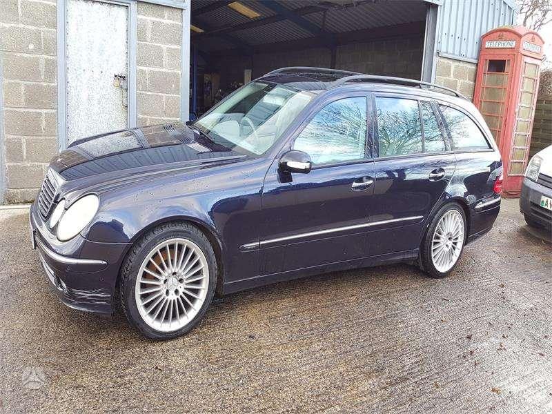 Mercedes-Benz E klasė. Varikliai 3,2 ,2,7, 2,2 pneumo