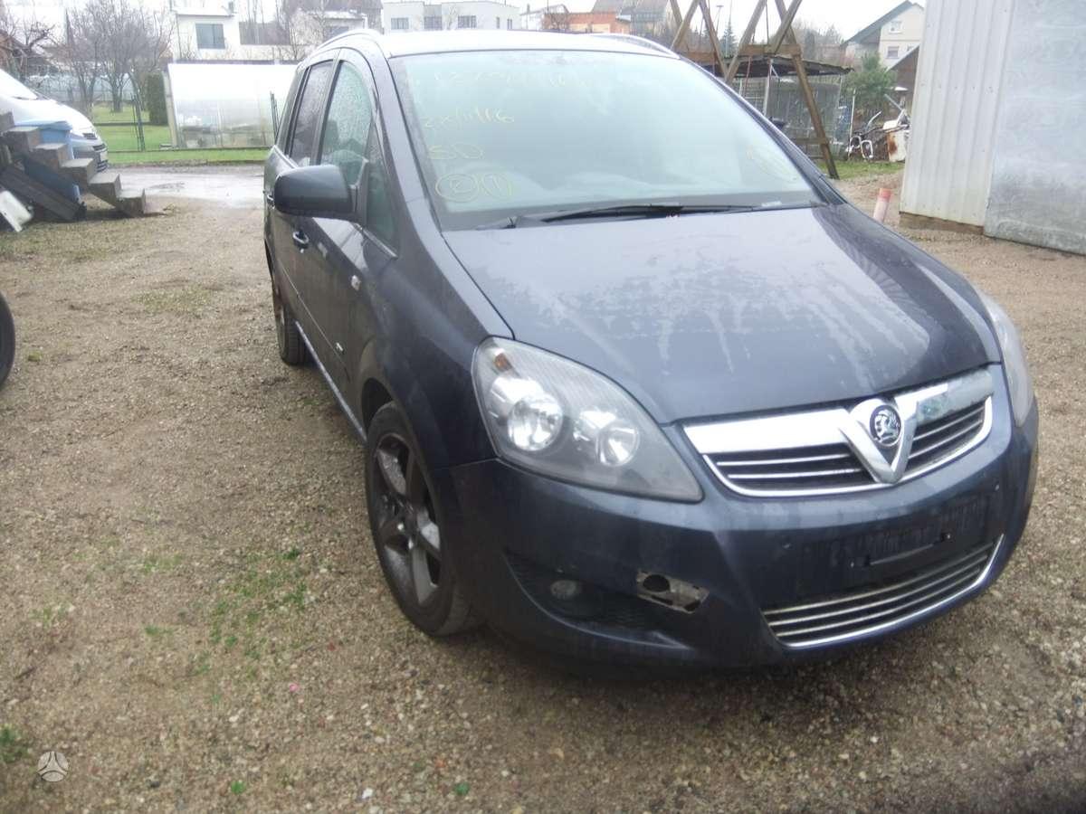 Opel Zafira.   1.7  dyzelis  , 6  begiai