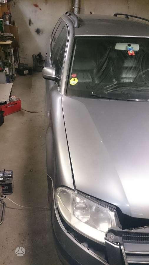 Volkswagen Passat dalimis. Passat b 5+ tdi 96kw awx.avf motorai.