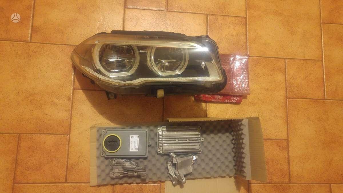 BMW 5 serija. Priekiniai ir galiniai bamperiai m- paket ir