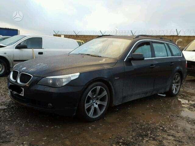 BMW 530. Bmw 530i 170kw 2004 dalimis  black saphire metalic