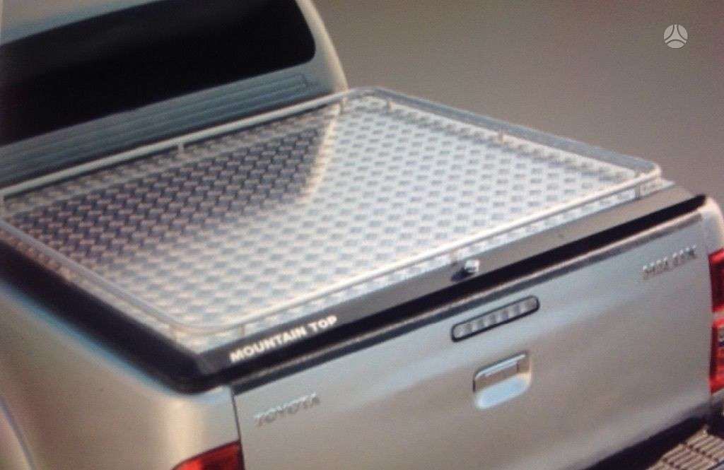 Toyota Hilux. Kroviniu skyriaus dangtis double cab (4 pilnos