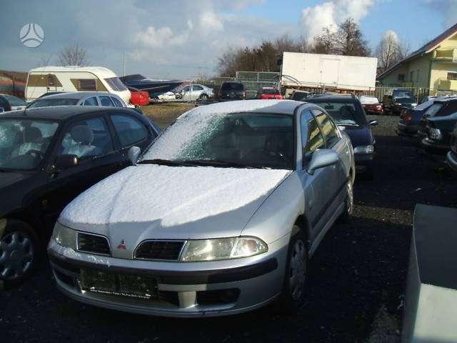 Mitsubishi Carisma. Automobilis is vokietijos rida tik 91.000km.
