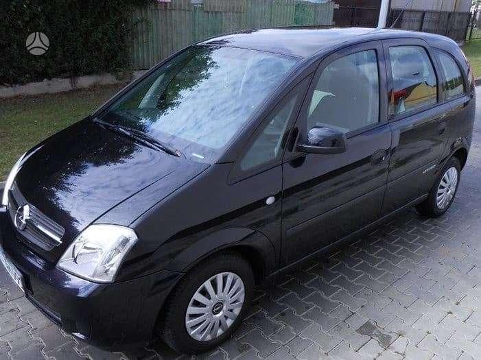 Opel Meriva. Automobilis dar neisardytas! taikome detalem