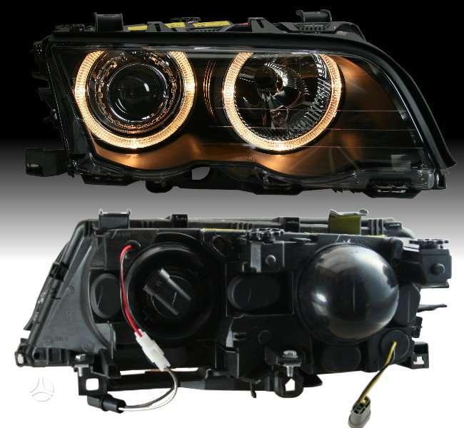 BMW 3 serija žibintai