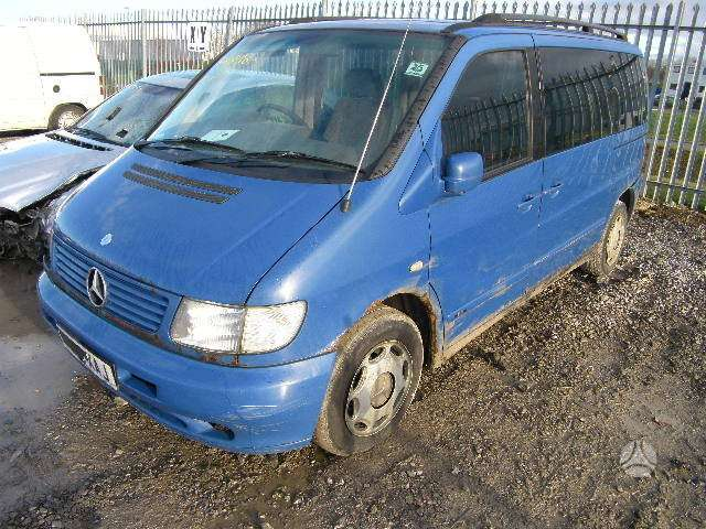 Mercedes-Benz, Vito, keleiviniai