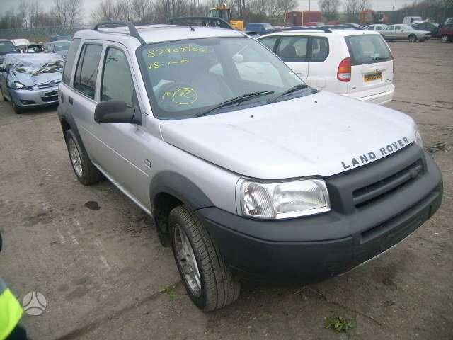 Land Rover Freelander. доставка бу запчастей с разтаможкой в минс