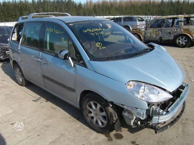 Peugeot 807. Pavaru  deze  20lm01.  salonas  nuo  fiat  ulises.