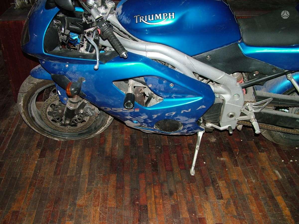 Triumph Daytona, touring / sport touring / kelioniniai